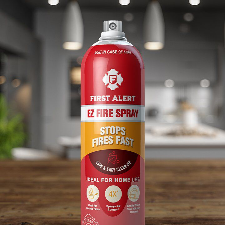 first alert easy fire spray can that stops fires fast