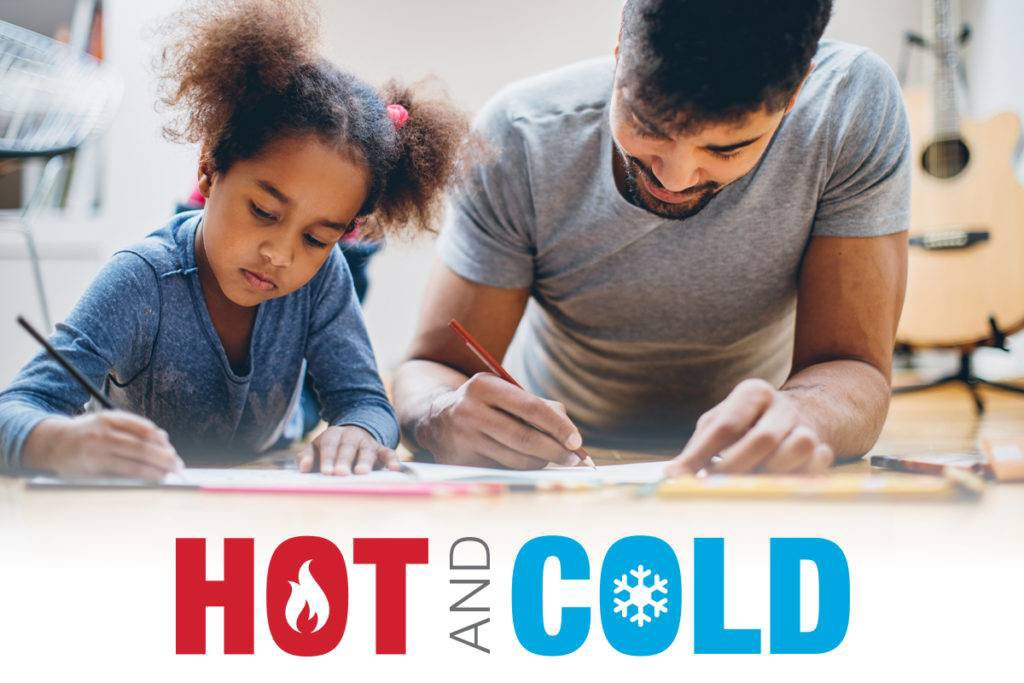 Hot & Cold Fire Safety Activity